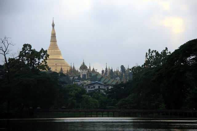 Kandawgyi Lake, the Karaweik and the Palace Hotel – Yangon, Myanmar –  You're Not From Around Here, Are You?